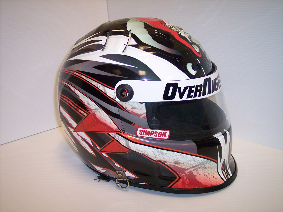 Overnight Wraps Motorsports Division Helmets Helmet Wraps Helmet - Motorcycle half helmet decalscustom motorcycle helmet decals and motorcycle helmet stickers